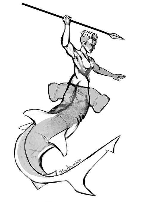 Mermay SHARK by Inprismed