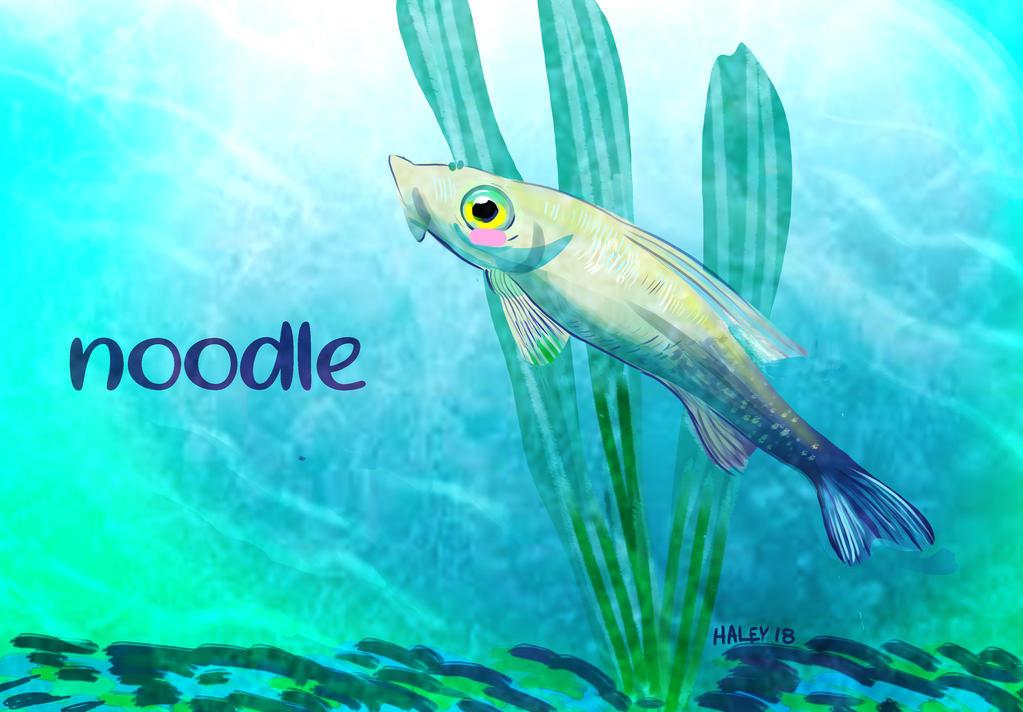 RIP noodle by Inprismed