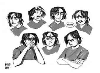 Charlie Expressions by Inprismed