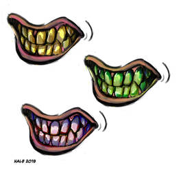 Discolored Teeth by Inprismed