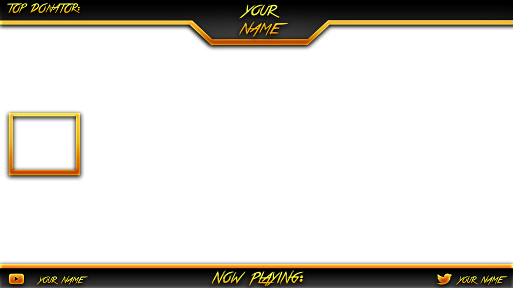 Pin overlay template on pinterest for Free twitch overlay template