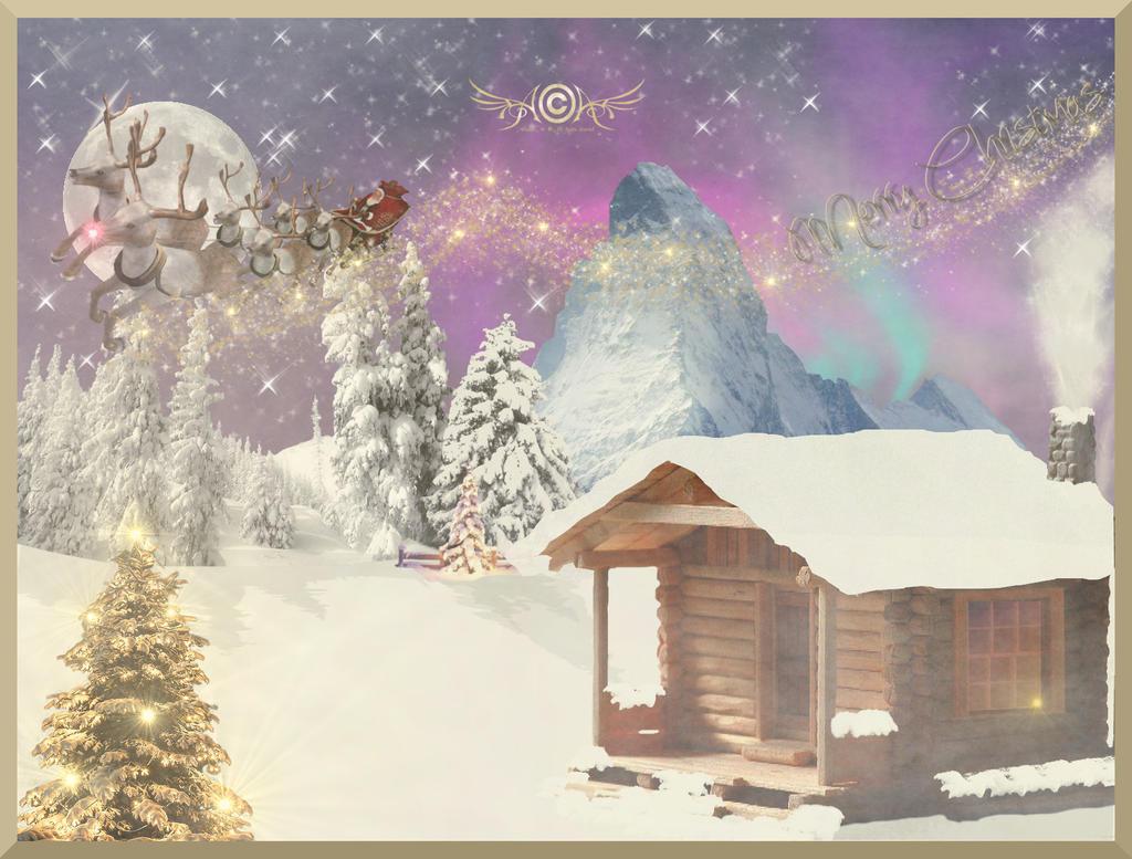 One Fogy Christmas Night by AtlanticaArt