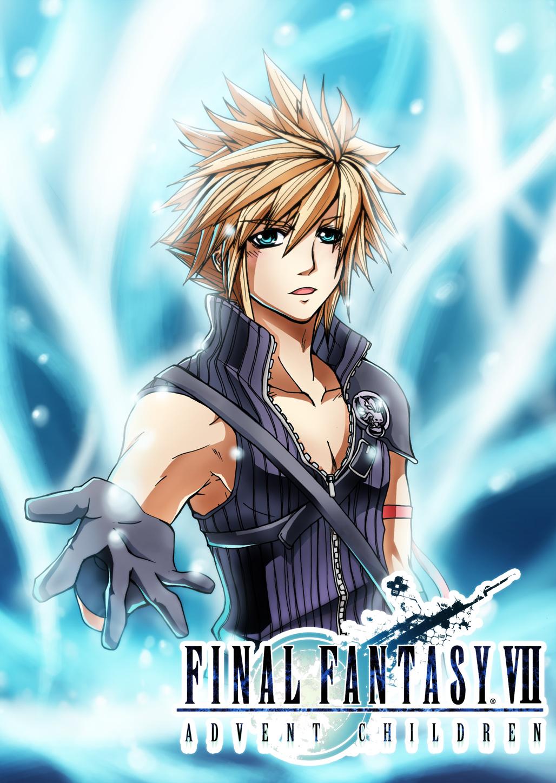 FA16: Final Fantasy VII, Cloud By Mazjojo On DeviantArt