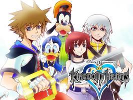 :: Kingdom Hearts :: by mazjojo
