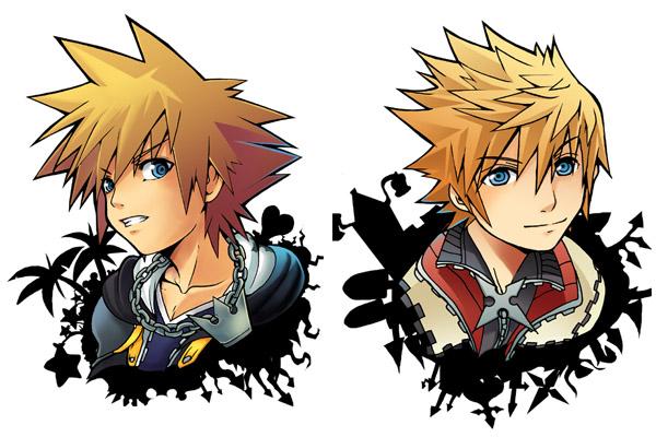 Sora Kingdom Hearts Lineart : Kh lazyboys sora n roxas by akewataru on deviantart