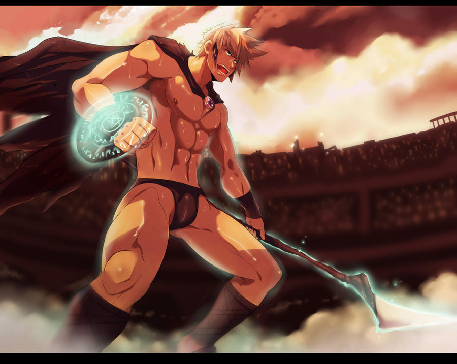 comm: Phantom Gladiatorism by mazjojo