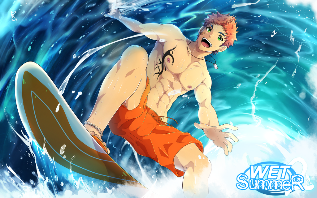 WET SummeR 2 Promotional Poster by mazjojo