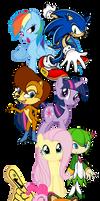 Sonic vs. Ponies