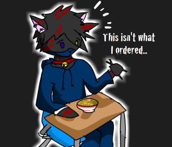 Ryo-neko: Not what he ordered by ShadowStarry