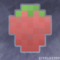 Strawberry pixels by ShadowStarry