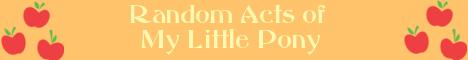 Random Acts of My Little Pony: Applejack by RandomActsofMLPP