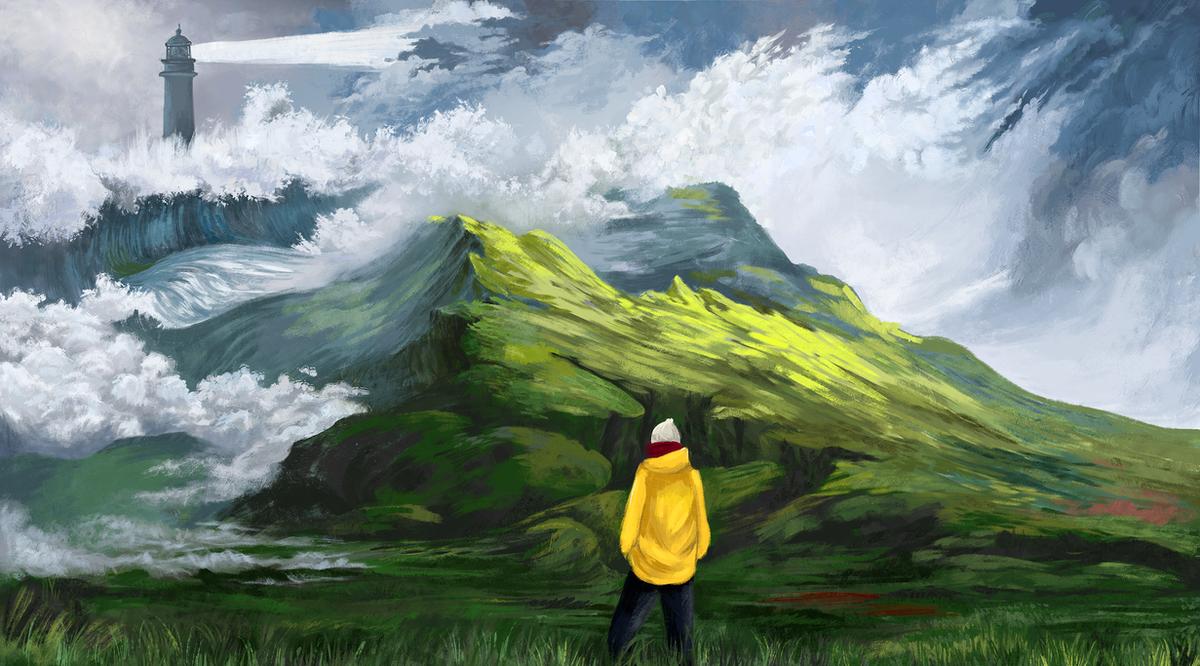 Stormy Sky by Casselloma
