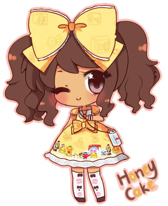 Honey Cake Coordinate by threewiishes