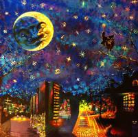 Weird nights by coffeecookiecat