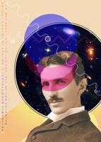 Nikola Tesla by coffeecookiecat