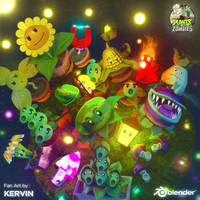 Final Fan Art - Plants vs Zombies