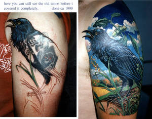 Raven coverup on Bart