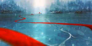 Frozen Lake - Speedpainting exercise