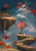 Flower Garden - Daily Spitpaint by mohn-blume