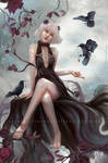 Yunja and the Ravens by mohn-blume