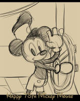 Happy Birthday Mickey by angelsunbomb