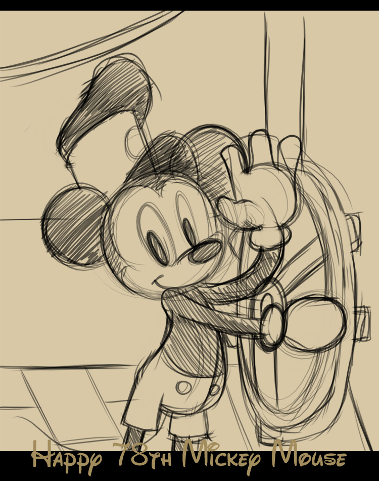Happy Birthday Mickey by angelsunbomb