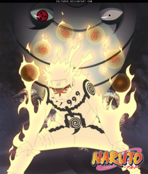 Naruto 515 cover by Voltured