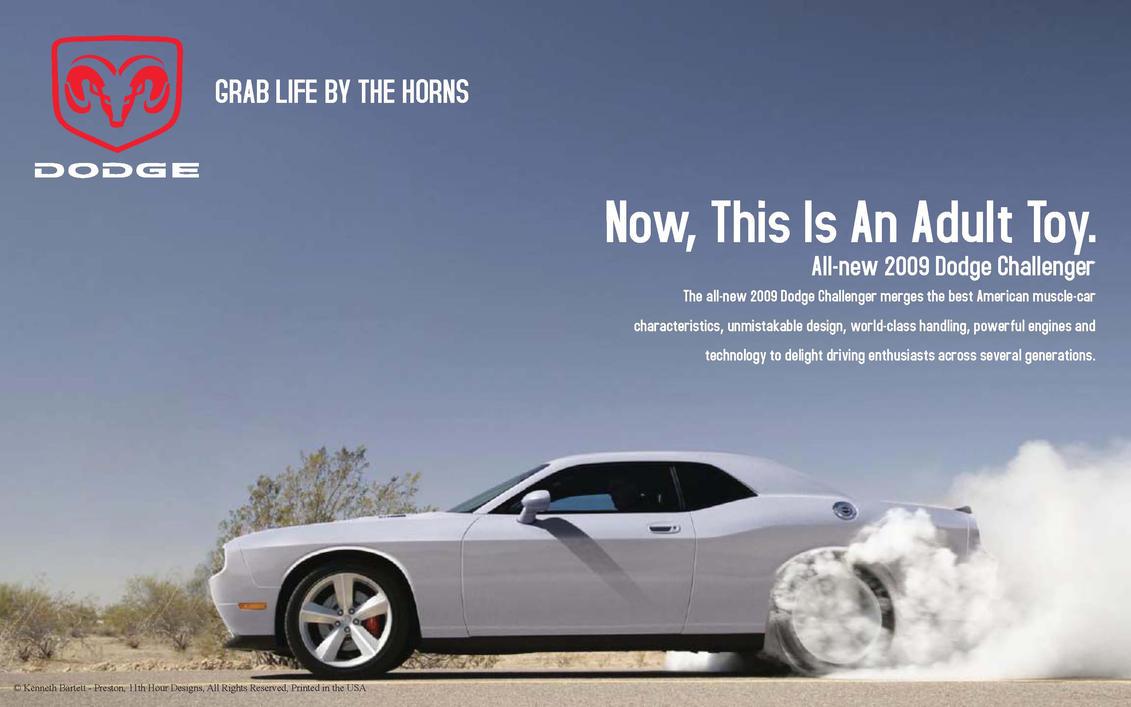 Dodge Challenger Image Dodge Challenger Ad