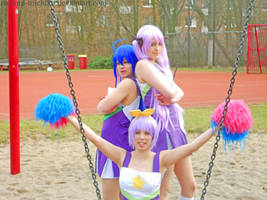 Lucky Star Cheerleader endpose by Nanami-Michiko