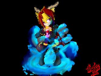 Firewhirl (Transp.) by AzureSt0rm