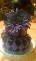 Mad Hatter Birthday Cake
