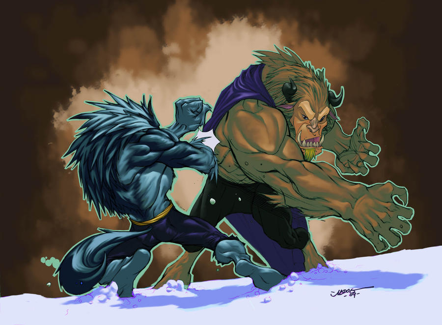 Beast vs Talbain colors
