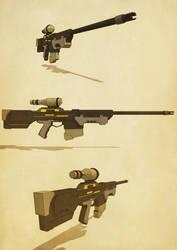 Sniper Rifle by jusdog