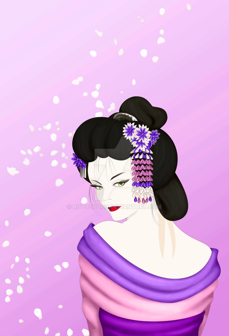 Geisha model by rivetspoon