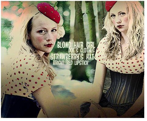 blond hair girl by idiot monkey - sar���n k�z avatarlar�