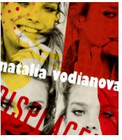 natalia vodianova yellowandred by idiot-monkey