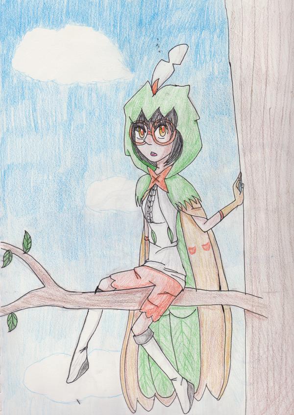 Bashful Bird by Icey-chan