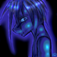 Blue Guy by 2kz