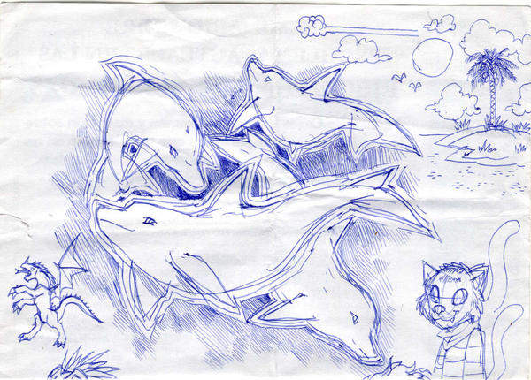 Random sketchs by MarianoTvw