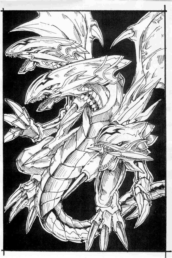 Blue Eyes Dragon From Yu Gi Oh By MarianoTvw On DeviantArt