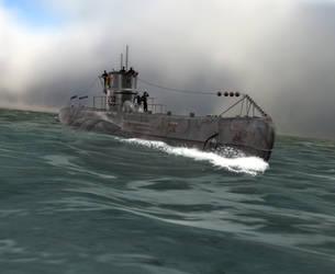 Das Boat U 99 by caastel