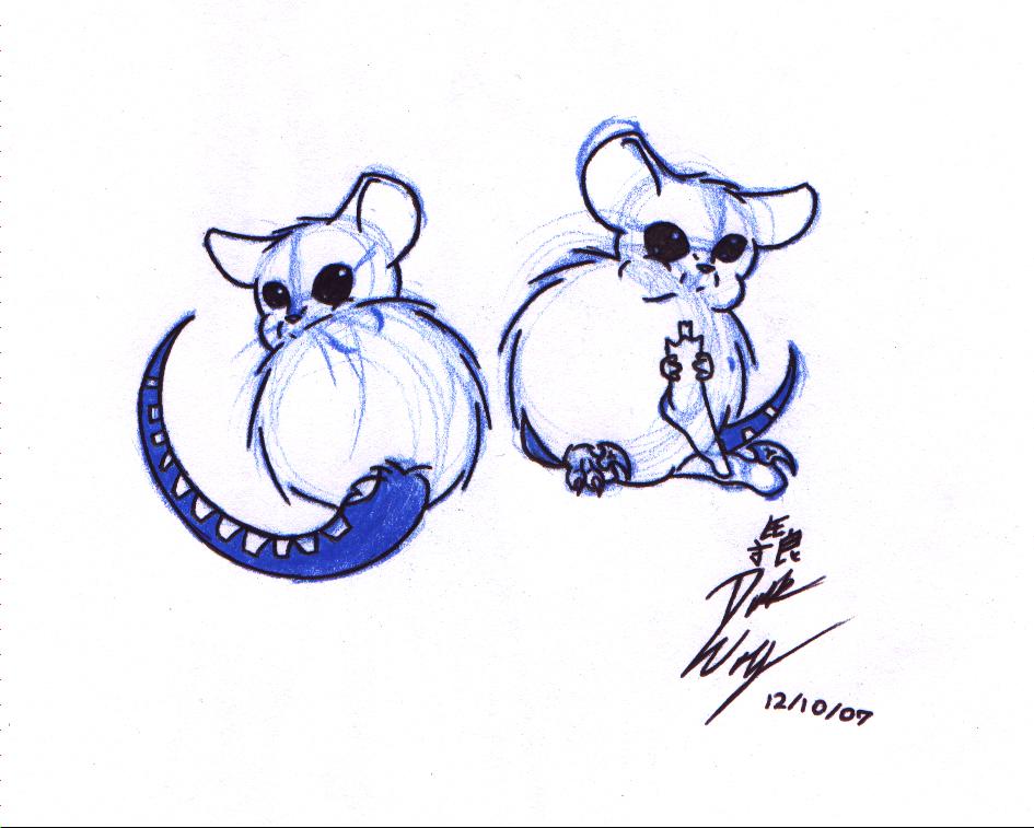 Hamster Raptors by Dusk-Wolf