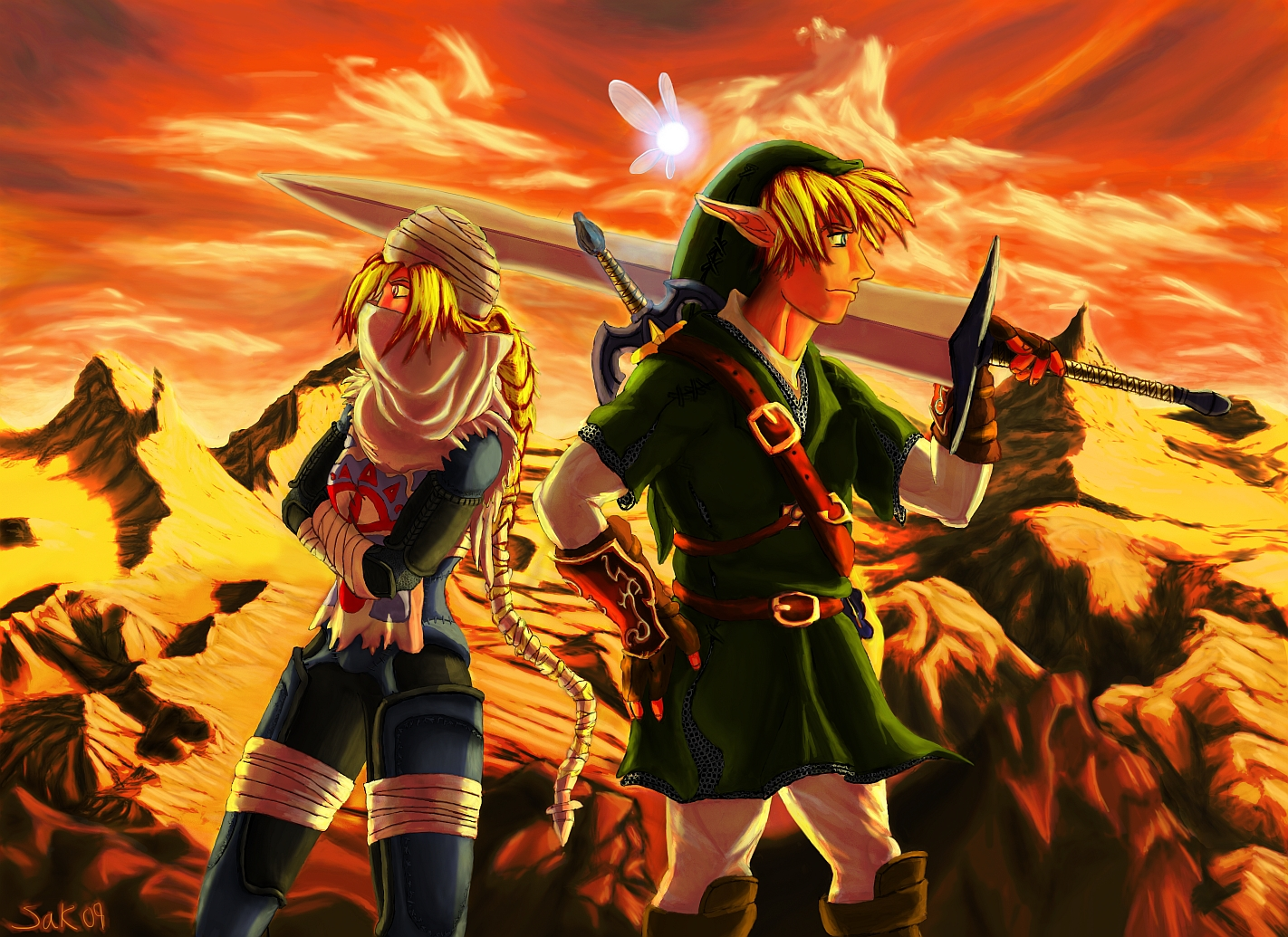 link and sheik wallpaper - photo #4
