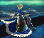 Fate stay night tribute saber