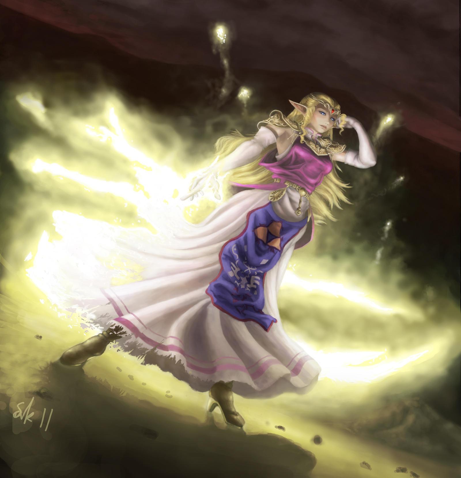 Zelda by lakengubben