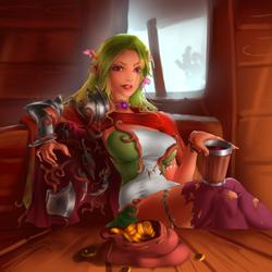 Wood Elf Ranger Bribed