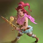 Speed Art Swordmaiden Rosetta