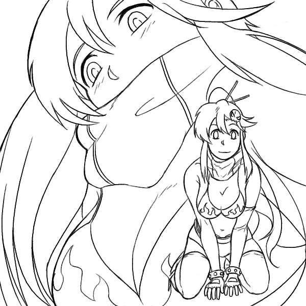 yoko coloring pages - photo#5