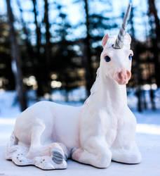 Windstone Unicorn Commission by inkblot-em