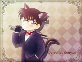 neko-mimi Conan by Arya032